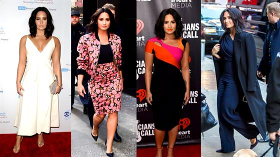 Demi Lovato's Fashion Rewind