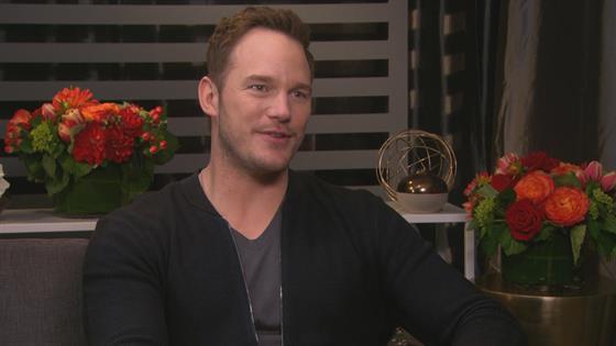 Chris Pratt Takes Son on