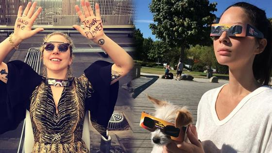 Celebrities React to the 2017 Solar Eclipse