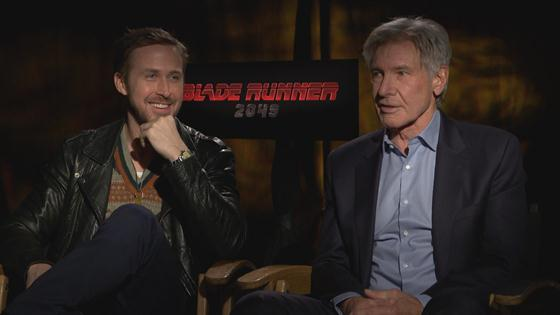 See Why Ryan Gosling & Harrison Ford Are in Stitches