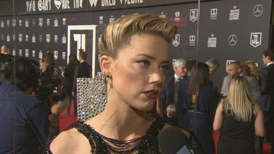 Amber Heard Says She Never Came Out Because She Was