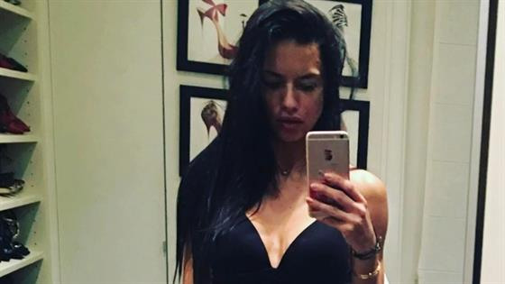 Adriana Lima's Abs Are All You Need to See Today