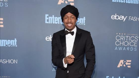 First Photo of Nick Cannon With His New Son