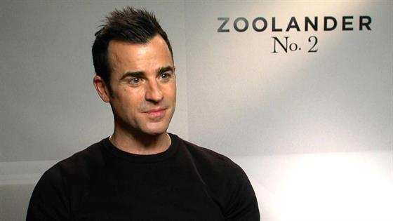 Play Video - Justin Theroux Talks Getting Jen Aniston in Zoolander 2