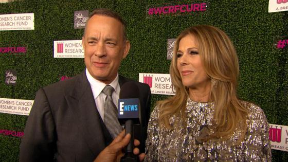 Tom Hanks & Rita Wilson Have a Red Carpet Date Night