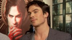 Play Video - Ian Somerhalder Gives Vampire Scoop