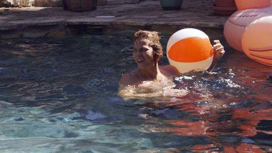Daniel Acts a Fool at Ashlee's Pool Party