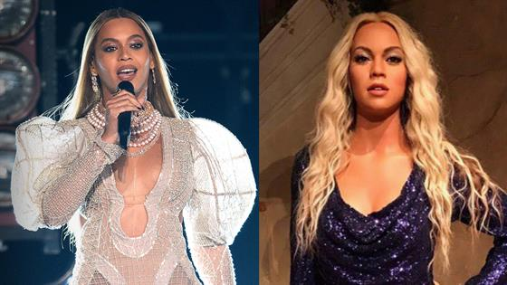 Beyhive Reacts to Beyonce's Bizarre Wax Figure