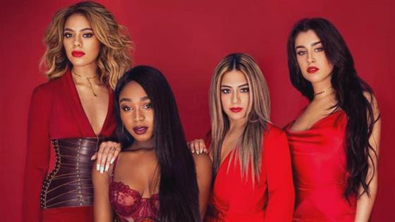 Fifth Harmony in a four-part studio, an excerpt from a new song