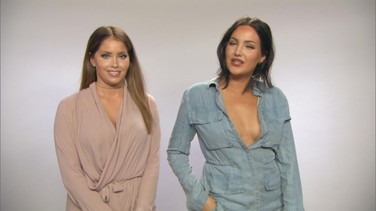 Get Natalie Halcro And Olivia Pierson S Stylish Looks From Wags Season 2 On E News