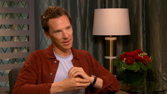 Cumberbatch Sneaks Beyonce Into