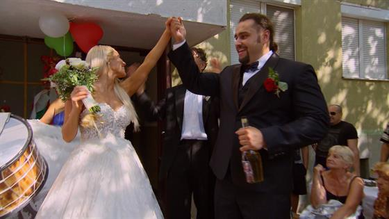 Lana & Rusev's Wedding in Bulgaria Goes to the Streets
