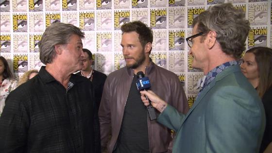 Chris Pratt on Filming Sex Scene With J.Law