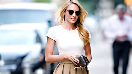 Tailored with Morgan Stewart: White Tee Styling