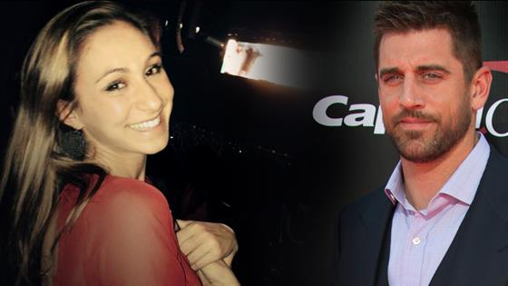 Aaron Rodgers Spotted on a Date With Marie Margolius