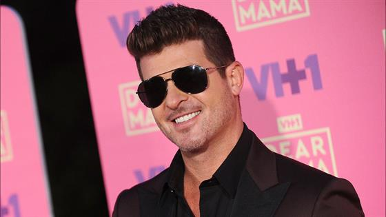 Robin Thicke Is Going to Be a Dad Again