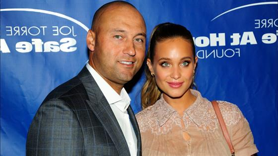 Derek and Hannah Jeter Welcome a Daughter