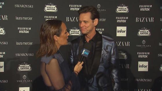 Jim Carrey Gives Awkward Interview at NYFW Party: There\'s No Meaning ...
