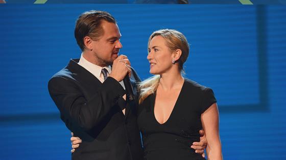 Leonardo DiCaprio & Kate Winslet Reunite