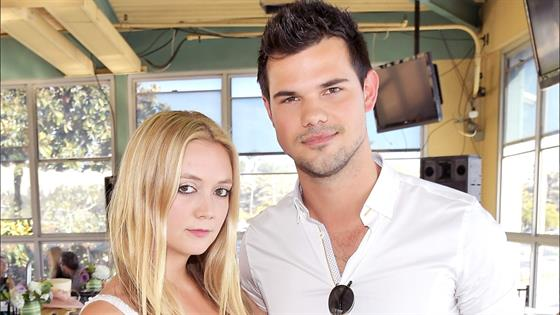 Taylor Lautner and Billie Lourd Caught Kissing