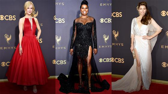 Le récap des tenues des Emmys 2017