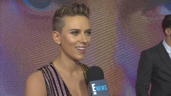 Scarlett Johansson Talks