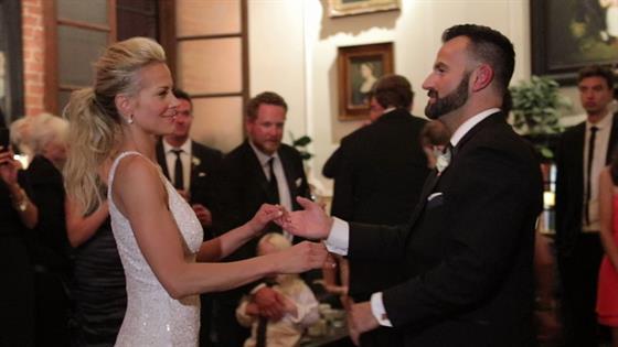 Brittany Daniel's Wedding Dance Off
