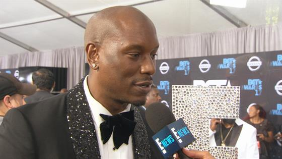 Tyrese Gibson Gushes Over Wife at BET Awards