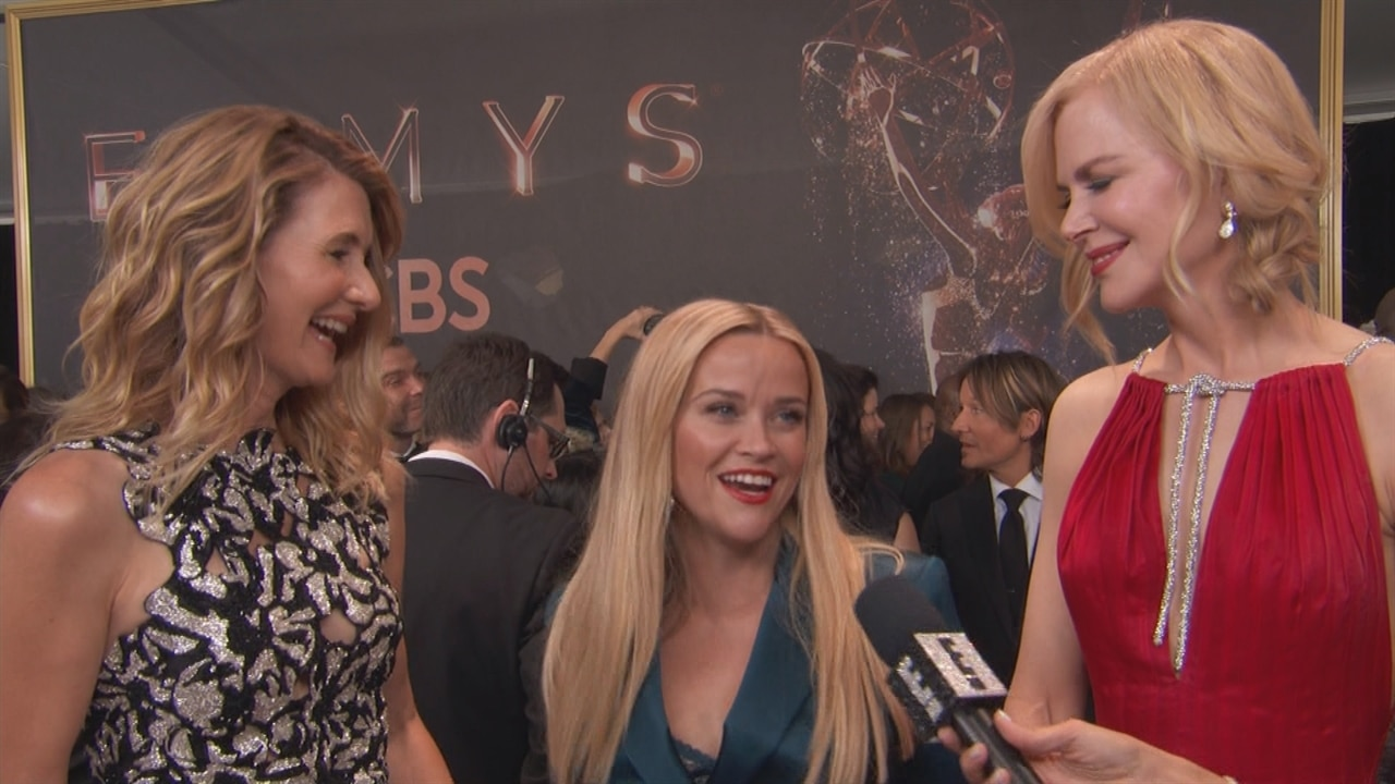 Reese Witherspoon And Big Little Lies Co Stars Reveal At 2017 Emmys They Want A Season 2 Too E News