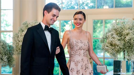 Miranda Kerr & Evan Spiegel Are Married
