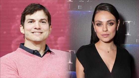 Ashton Kutcher & Mila Kunis' First Kiss Was Weird