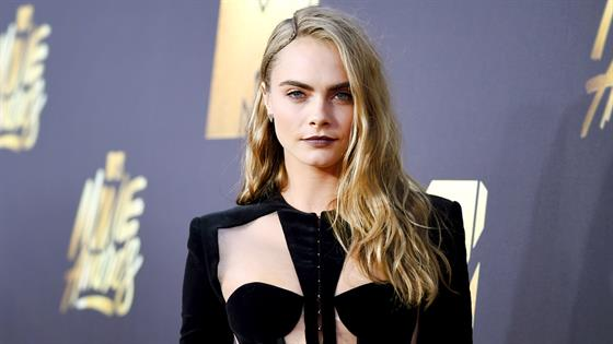 Get Cara Delevingne's Festival-Ready Hairstyle