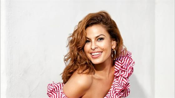 Eva Mendes Loves Being Home