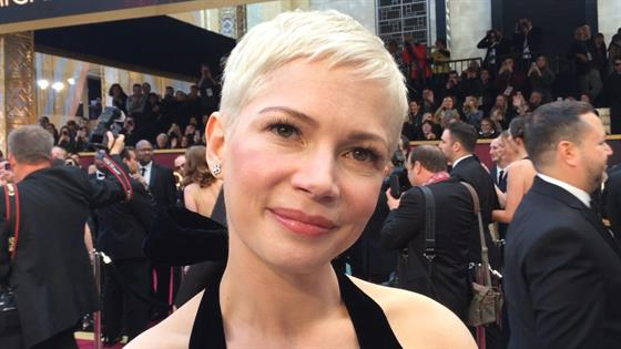 Michelle Williams Talks Rehearsing With Hugh Jackman