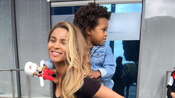 Ciara's Son Lands First Modeling Campaign With Gap