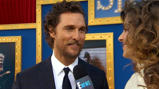 Matthew McConaughey Talks Holiday Plans