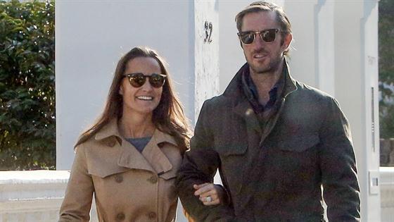 Pippa & James Leave Their Wedding