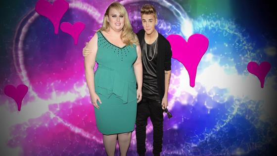 Play Video - Justin Bieber Gets Valentine's Day Love From Rebel Wilson