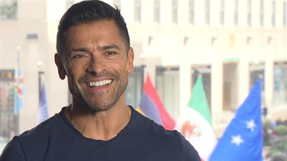 Mark Consuelos Spills on His