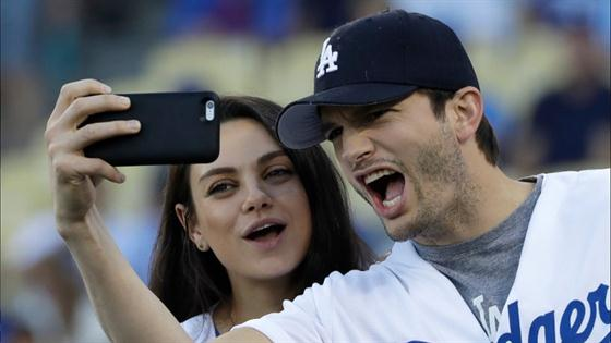 Mila and Ashton Reveal Son's Name