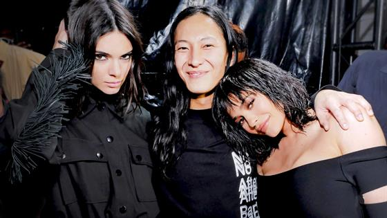 Celebs Outside Alexander Wang Fall 2017