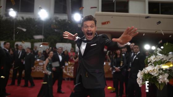 Play Video - Ryan Seacrest Celebrates 10 Years on E!'s Red Carpet