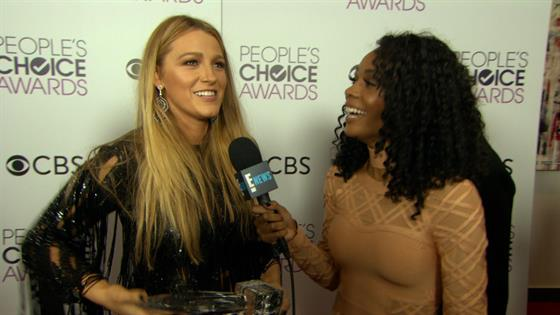 How Blake Lively Is Celebrating 2017 People's Choice Win