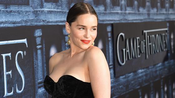 Emilia Clarke Spills
