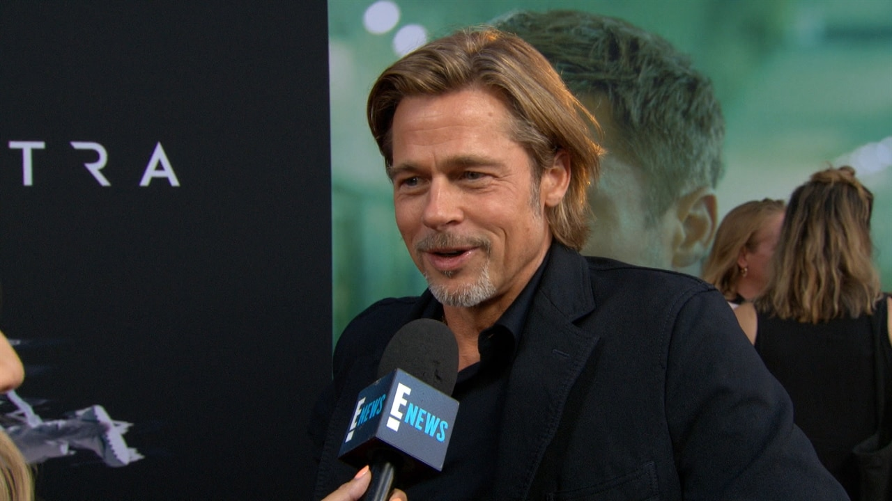 Swoon! Brad Pitt Has the Perfect Movie Star Reaction to His PCAs Nom