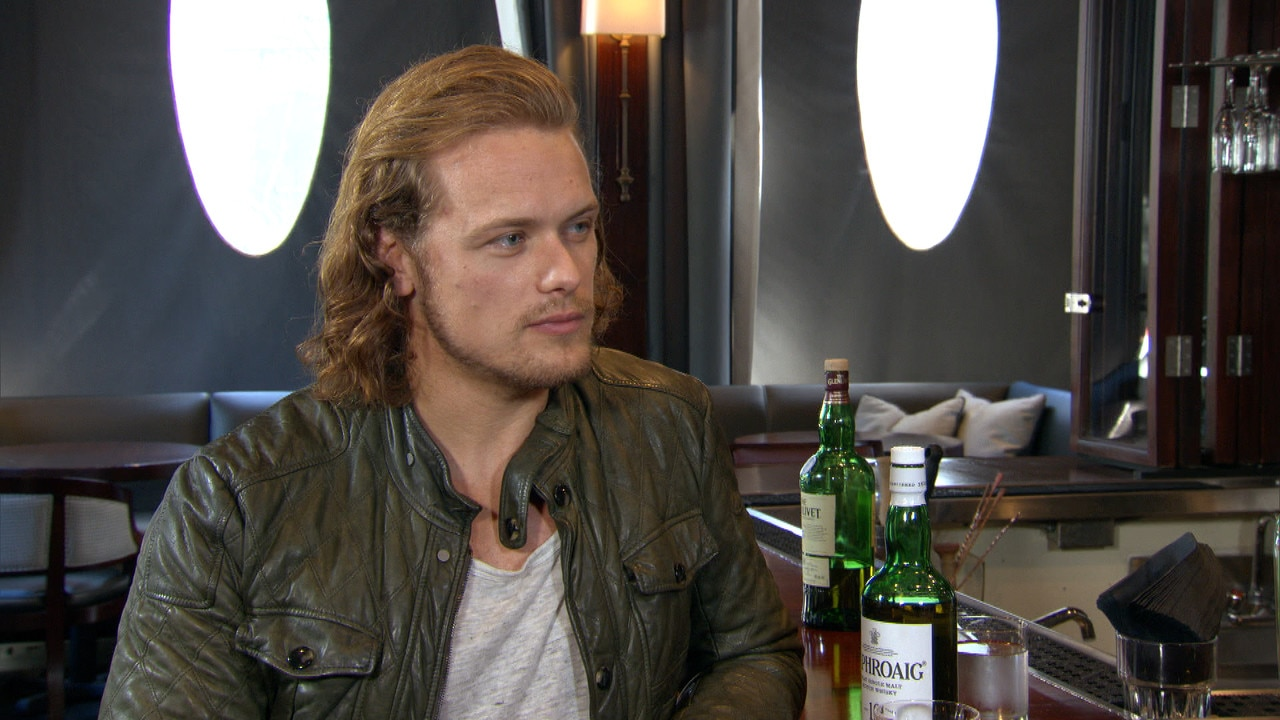 Sam Heughan Gets Candid On Outlander Sex Scenes  E News-8818