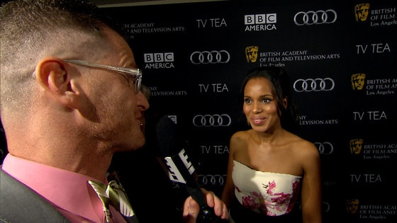 Kerry Washington Reveals Pre-Emmys Diet: Wine and Cookies!