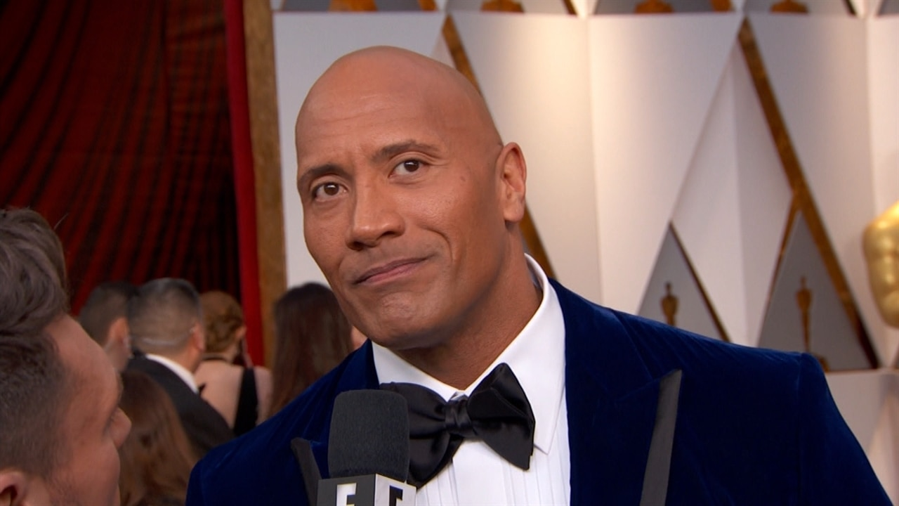 Dwayne Johnson Reveals at Oscars 2017 His Foolproof Cure for Singing Nerves