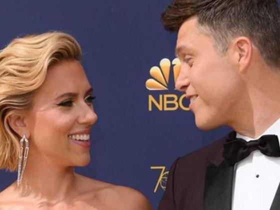 Scarlett Johansson y Colin Jost se comprometieron