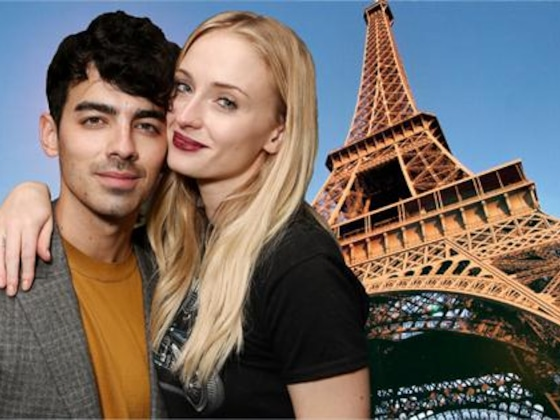 Sophie Turner & Joe Jonas Show PDA in France Ahead of Wedding No. 2